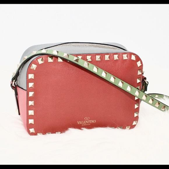 a1431b4a26 Auth Valentino Limited Edition Rockstud Camera Bag.  M_5abfd4b51dffdaf160a4d5f1